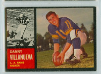 1962 Topps Football 85 Danny Villanueva Los Angeles Rams Excellent
