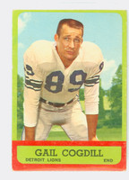 1963 Topps Football 28 Gail Cogdill Detroit Lions Very Good