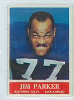 1964 Philadelphia 8 Jim Parker Baltimore Colts Near-Mint