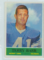 1964 Philadelphia 57 Terry Barr Detroit Lions Near-Mint
