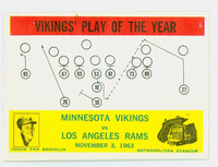 1964 Philadelphia 112 Vikings Play (Van Brocklin) Excellent