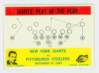 1964 Philadelphia 126 Giants Play Very Good to Excellent