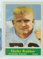 1964 Philadelphia 142 Charley Bradshaw Pittsburgh Steelers Near-Mint