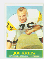 1964 Philadelphia 145 Joe Krupa Pittsburgh Steelers Excellent to Excellent Plus