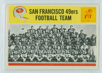 1964 Philadelphia 167 49ers Team Excellent to Mint