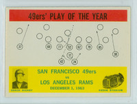 1964 Philadelphia 168 49ers Play Excellent to Mint