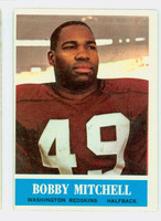 1964 Philadelphia 189 Bobby Mitchell Washington Redskins Excellent