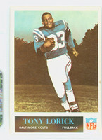 1965 Philadelphia 6 Tony Lorick Baltimore Colts Excellent to Excellent Plus