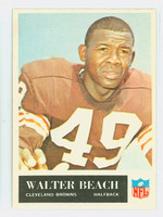 1965 Philadelphia 30 Walter Beach Cleveland Browns Excellent to Excellent Plus