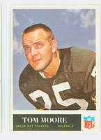 1965 Philadelphia 78 Tom Moore Green Bay Packers Excellent