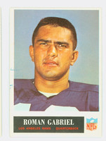 1965 Philadelphia 87 Roman Gabriel Los Angeles Rams Excellent