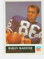 1965 Philadelphia 91 Marlin McKeever Los Angeles Rams Excellent to Mint
