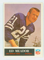 1965 Philadelphia 92 Ed Meador Los Angeles Rams Excellent to Mint