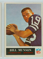 1965 Philadelphia 93 Bill Munson ROOKIE Los Angeles Rams Near-Mint