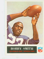 1965 Philadelphia 95 Bobby Smith Los Angeles Rams Excellent to Mint