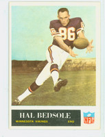 1965 Philadelphia 101 Hal Bedsole ROOKIE Minnesota Vikings Excellent
