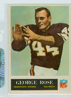 1965 Philadelphia 109 George Rose Minnesota Vikings Excellent to Mint