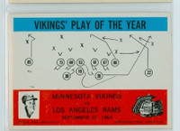 1965 Philadelphia 112 Vikings Play Excellent to Mint