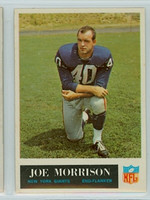 1965 Philadelphia 120 Joe Morrison ROOKIE New York Giants Excellent to Mint
