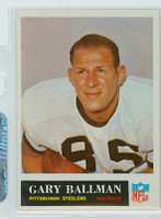 1965 Philadelphia 143 Gary Ballman Pittsburgh Steelers Excellent to Mint
