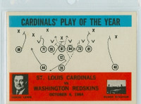 1965 Philadelphia 168 Cardinals Play Excellent to Mint