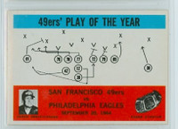 1965 Philadelphia 182 49ers Play Excellent to Mint