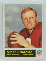 1965 Philadelphia 188 Sonny Jurgensen Washington Redskins Excellent to Mint