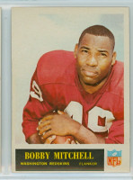 1965 Philadelphia 191 Bobby Mitchell Washington Redskins Excellent to Mint