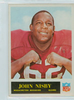 1965 Philadelphia 192 John Nisby Washington Redskins Near-Mint