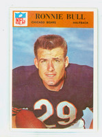 1966 Philadelphia 30 Ron Bull Chicago Bears Near-Mint