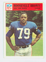 1966 Philadelphia 119 Roosevelt Brown New York Giants Excellent to Excellent Plus