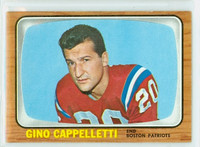 1966 Topps Football 4 Gino Cappelletti New England Patriots Excellent
