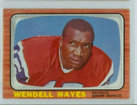 1966 Topps Football 34 Wendell Hayes Denver Broncos Excellent