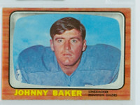 1966 Topps Football 47 Johnny Baker Houston Oilers Excellent