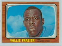 1966 Topps Football 55 Willie Frazier Houston Oilers Excellent