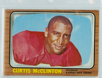 1966 Topps Football 72 Curtis McClinton Kansas City Chiefs Excellent