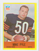 1967 Philadelphia 34 Mike Pyle Chicago Bears Excellent to Excellent Plus