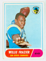 1968 Topps Football 11 Willie Frazier San Diego Chargers Very Good