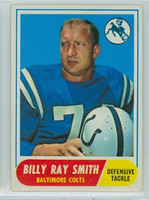 1968 Topps Football 22 Billy Ray Smith Baltimore Colts Excellent to Mint