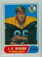 1968 Topps Football 59 JR Wilburn Pittsburgh Steelers Excellent to Mint