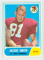 1968 Topps Football 86 Jackie Smith St. Louis Cardinals Very Good