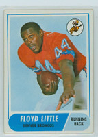 1968 Topps Football 173 Floyd Little ROOKIE Denver Broncos Very Good to Excellent