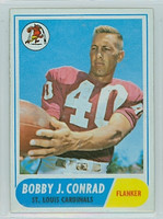 1968 Topps Football 190 Bobby Joe Conrad St. Louis Cardinals Excellent to Mint
