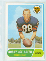 1968 Topps Football 214 Bobby Joe Green Chicago Bears Excellent to Mint