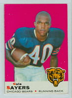 1969 Topps Football 51 Gale Sayers Chicago Bears Excellent to Excellent Plus