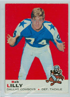 1969 Topps Football 53 Bob Lilly Dallas Cowboys Excellent