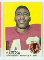 1969 Topps Football 67 Charley Taylor Washington Redskins Near-Mint Plus