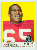 1969 Topps Football 108 Houston Antwine New England Patriots Excellent to Excellent Plus