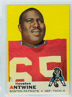 1969 Topps Football 108 Houston Antwine New England Patriots Excellent to Mint