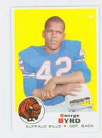 1969 Topps Football 173 George Byrd Buffalo Bills Excellent to Mint